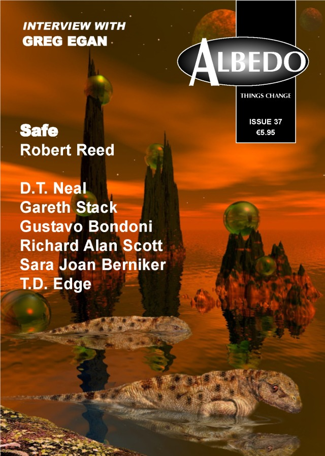 "Ireland's ALBEDO magazine published ""Stoker's Benefactor"" in it's Special Issue for WorldCon."